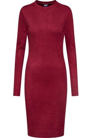 Urban Classics Dames Jerseyjurken - Jurk 'Ladies Peached Rib Dress LS