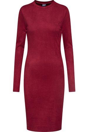 Urban classics Jurk 'Ladies Peached Rib Dress LS