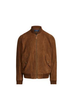 Polo Ralph Lauren Heren Bomberjacks - Suede Bomber Jacket