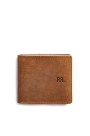 RRL Roughout Suede Billfold Wallet