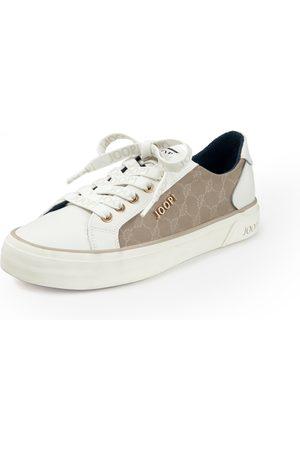 JOOP! Dames Sneakers - Sneakers Tessuto Ice rundnappaleer Van