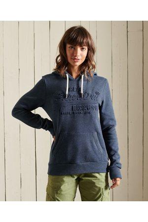 Superdry Vintage Logo hoodie met reliëf