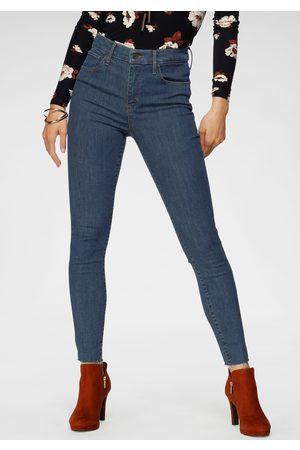 Levi's ® skinny fit jeans Highwaist met open zoom