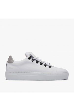 Nubikk Jagger Calf   Multi Witte Sneakers