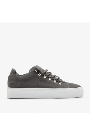 Nubikk Jagger Nubuck   Grijze Sneakers
