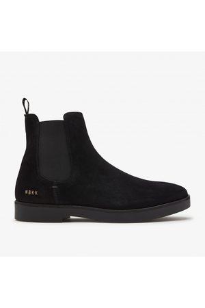 Nubikk Logan Chelsea   Zwarte Boots
