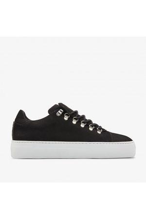 Nubikk Jagger Nubuck | Zwarte Sneakers