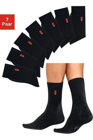 H.I.S Basic sokken in aangename katoenkwaliteit (7 paar)