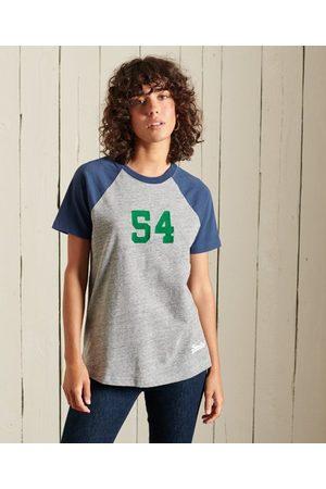 Superdry American Classics-T-shirt met vintage logo en raglanmouwen