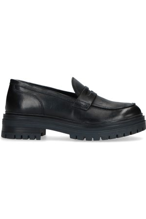 Manfield Dames Loafers - Leren loafers
