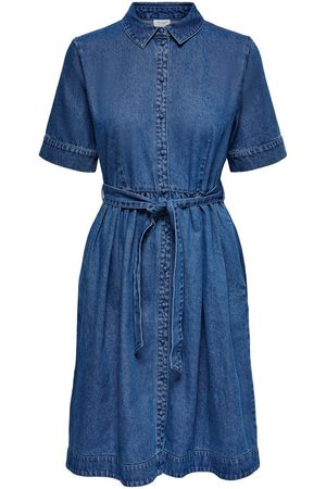ONLY 2/4 Blousejurk Dames Blauw
