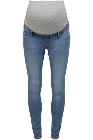 ONLY Dames Skinny - Mama Olmiris Mid Ankle Push Up Skinny Jeans Dames Blauw