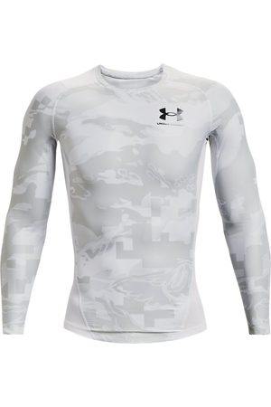 Under Armour Herenshirt UA Iso-Chill Compression Printed met lange mouwen