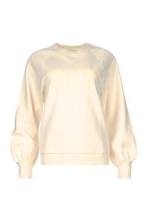 Dante 6 Dames Sweaters - Katoenen sweater met tekstopdruk Love Me
