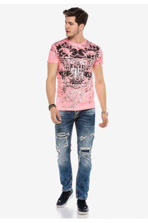 Cipo & Baxx Heren Straight - Jeans 'KURTIS