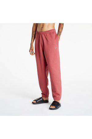 Nike Lab Men's NRG Solo Swoosh Fleece Pant Cedar/ White