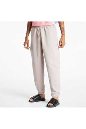 Nike Heren Broeken - Lab Men's NRG Solo Swoosh Fleece Pant Malt/ White