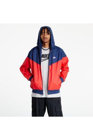 Nike Sportswear Windrunner Men's Hooded Jacket University Red/ Midnight Navy/ White