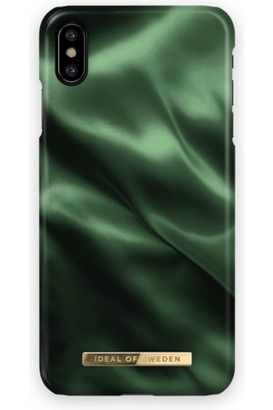 Ideal of sweden Fashion Case iPhone XS Max Emerald Satin