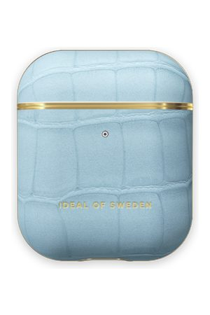 Ideal of sweden Atelier AirPods Case Sky Blue Croco