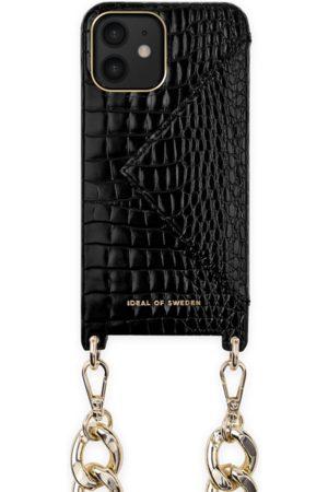Ideal of sweden Necklace Case iPhone 12 Neo Noir Croco