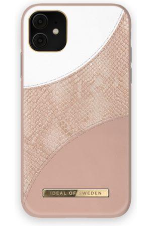 Ideal of sweden Atelier Case iPhone 11 Blush Pink Snake