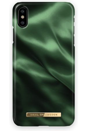 Ideal of sweden Fashion Case iPhone X Emerald Satin