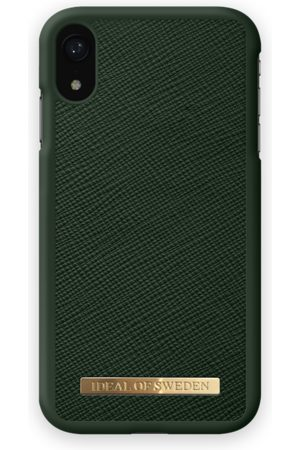 Ideal of sweden Saffiano Case iPhone XR Green