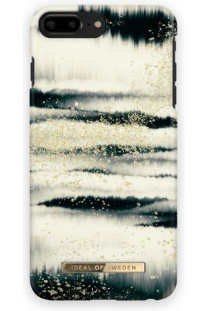 Ideal of sweden Fashion Case iPhone 8 Plus Golden Tie Dye