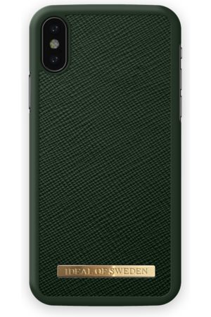 Ideal of sweden Saffiano Case iPhone X Green