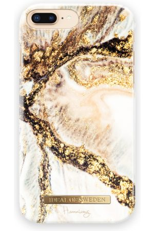 Ideal of sweden Fashion Case Hannalicious iPhone 8 Plus Golden Swirl