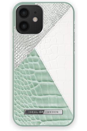 Ideal of sweden Atelier Case iPhone 12 Palladian Mint Snake