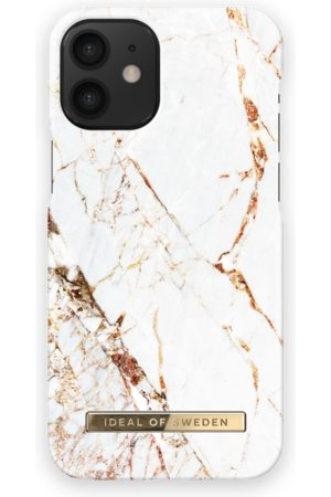 Ideal of sweden Fashion Case iPhone 12 Mini Carrara Gold