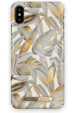 Ideal of sweden Fashion Case iPhone X Platinum Leaves