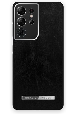 Ideal of sweden Atelier Case Galaxy S21 Ultra Glossy Black Silver