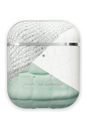 Ideal of sweden Atelier AirPods Case Palladian Mint Snake