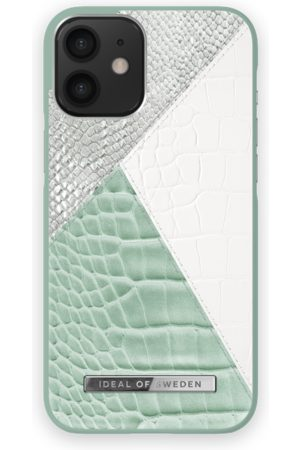 Ideal of sweden Atelier Case iPhone 12 Mini Palladian Mint Snake