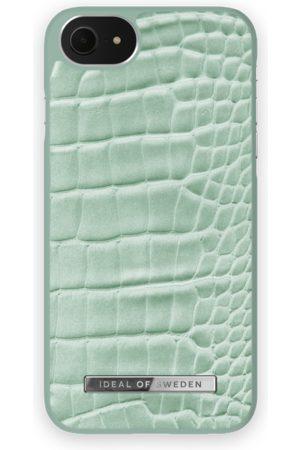 Ideal of sweden Atelier Case iPhone 8 Mint Croco