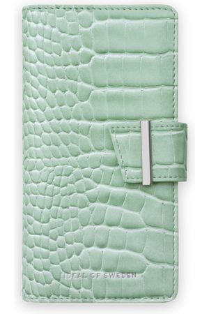 Ideal of sweden Cora Phone Wallet iPhone 12 Pro Max Mint Croco
