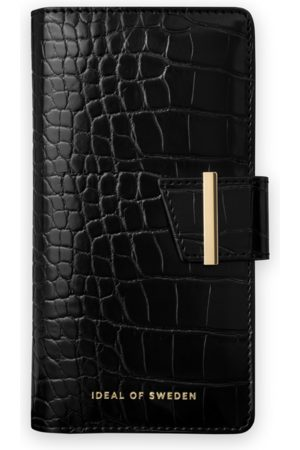 Ideal of sweden Cora Phone Wallet iPhone 11 Pro Jet Black Croco
