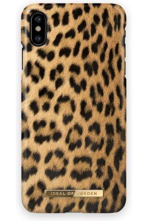 Ideal of sweden Fashion Case iPhone X Wild Leopard