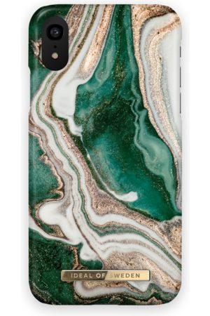 Ideal of sweden Fashion Case iPhone XR Golden Jade Marble
