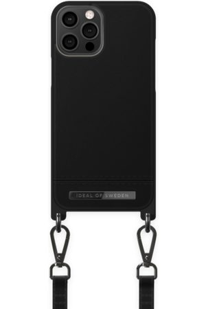 Ideal of sweden Atelier Phone Necklace Case iPhone 12 Pro Max Onyx Black