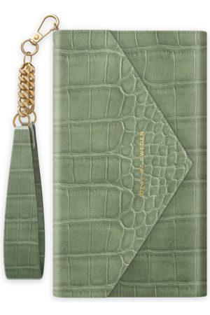 Ideal of sweden Envelope Clutch iPhone 11 Sage Croco