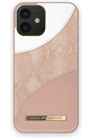 Ideal of sweden Atelier Case iPhone 12 Blush Pink Snake
