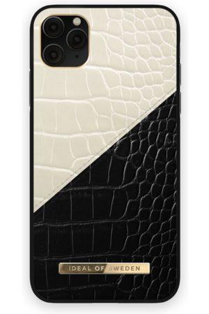 Ideal of sweden Atelier Case iPhone 11 Pro Max Cream Black Croco