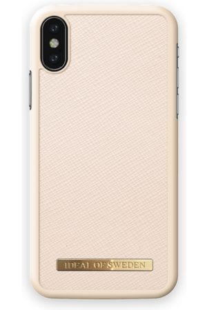 Ideal of sweden Saffiano Case iPhone X Beige