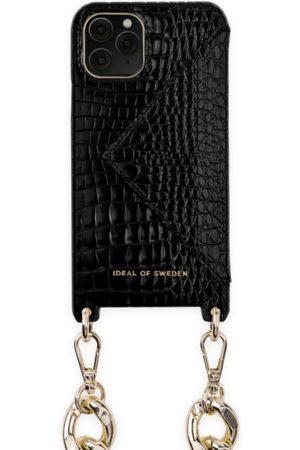 Ideal of sweden Necklace Case iPhone 11 Pro Neo Noir Croco
