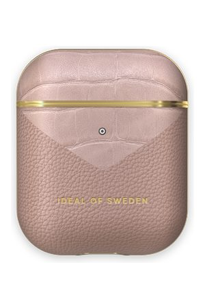 Ideal of sweden Atelier AirPods Case Rose Smoke Croco