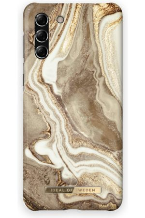 Ideal of sweden Fashion Case Galaxy S21 Plus Golden Sand Marble
